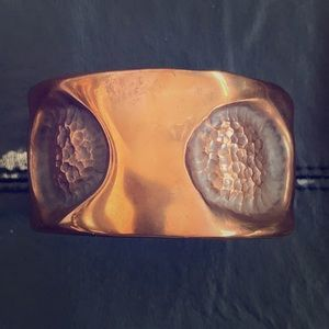 NEW Handmade Stamped Copper Cuff Bracelet
